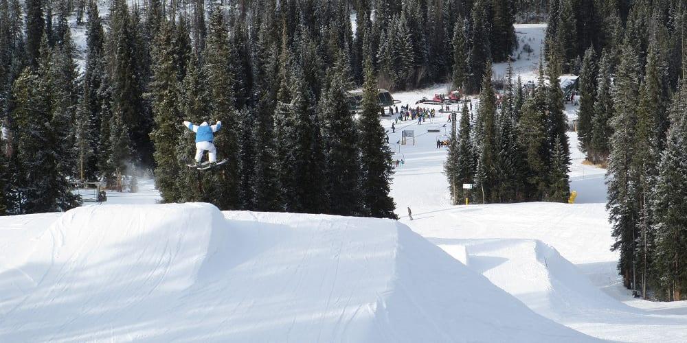 Winter Park Ski Resort Terrain Park