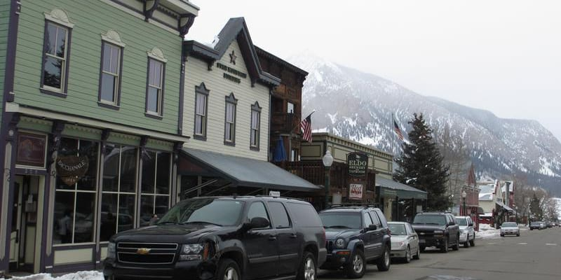 Crested Butte CO Downtown