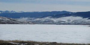 Wolford Mountain Reservoir Winter