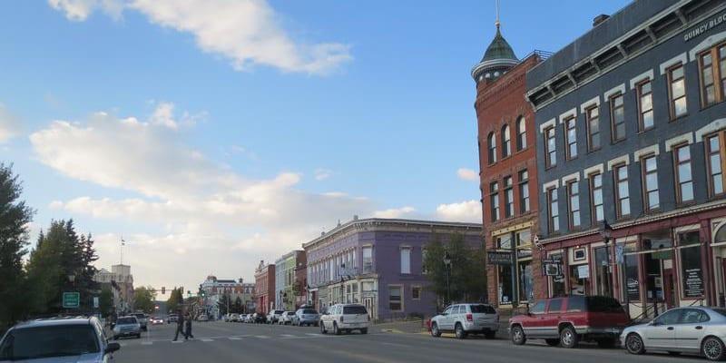 Leadville CO Downtown