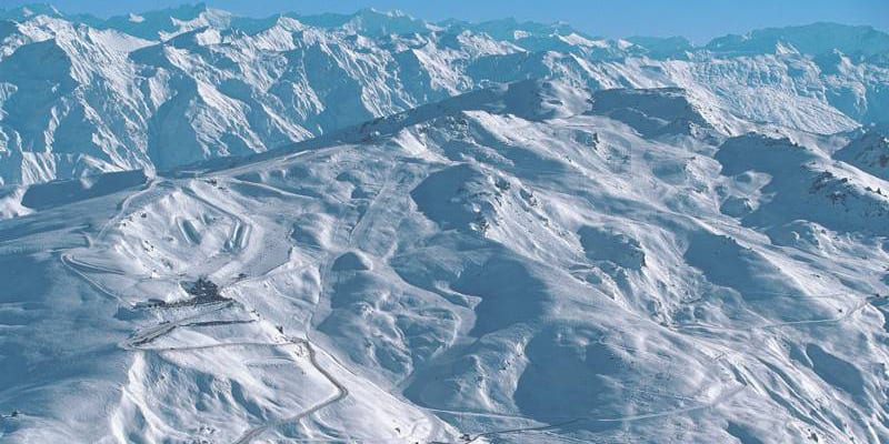 Cardona Ski Resort New Zealand Aerial View