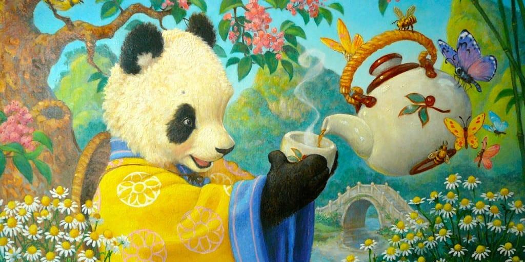 Celestial Seasonings Panda Tea