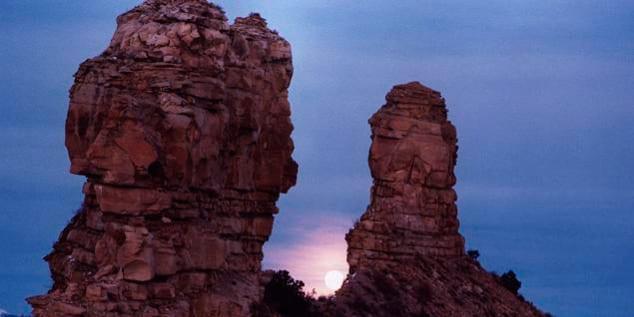 Chimney Rock Lunar Standstill
