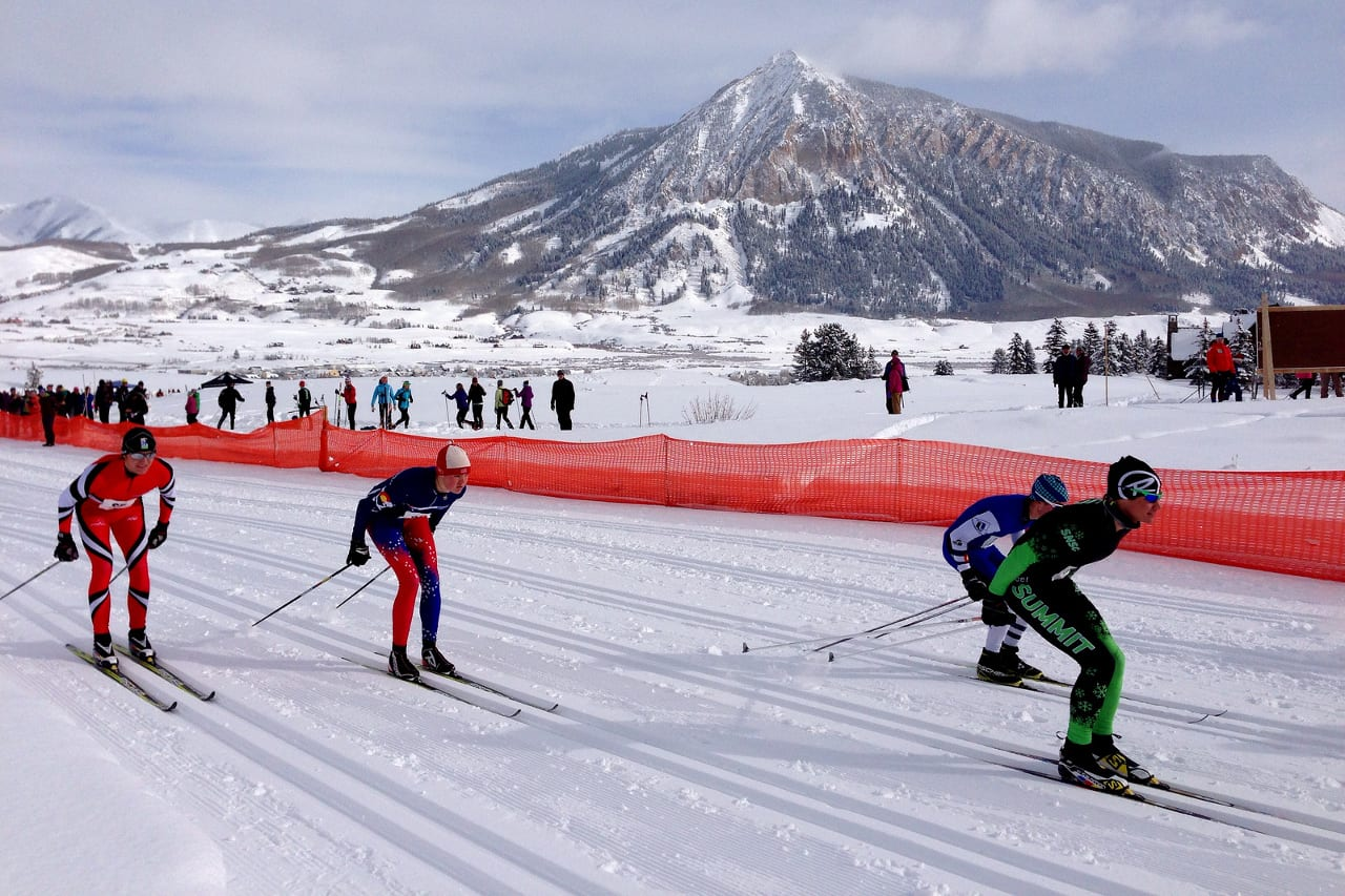 Crested Butte Nordic Center FIS Junior National Event