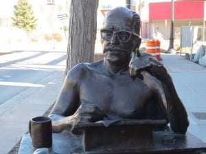 Dalton Trumbo Statue Grand Junction