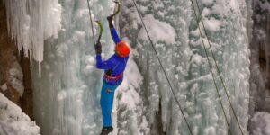 Ouray Ice Festival Climber