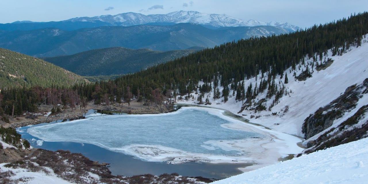 St Mary' Glacier.
