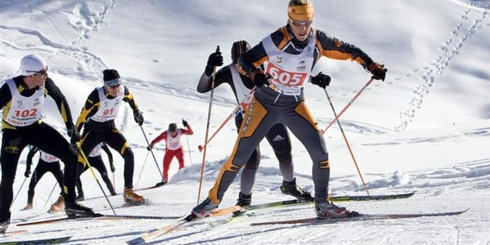 Vail Cross Country Ski Race