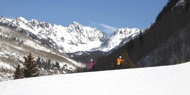 Vail Nordic Center Cross Country Skiing