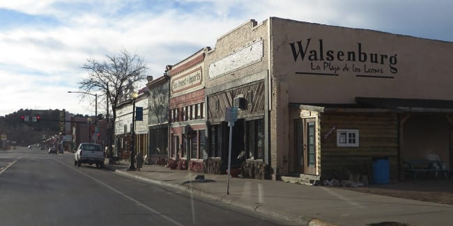 Downtown Walsenburg Colorado