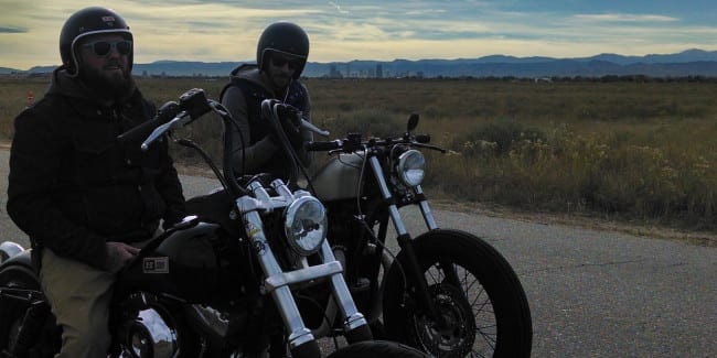 Denver Winter Motorcycle Rides