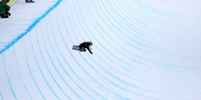 Winter X Games Halfpipe