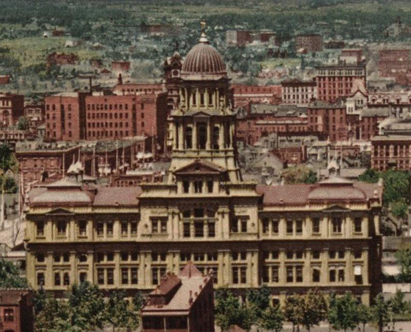 Arapahoe County Courthouse Vintage