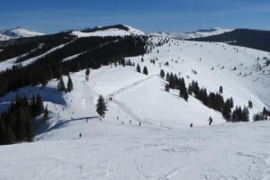 Vail Ski Resort Bowls Cat Track