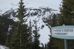 Breckenridge Ski Resort Palmyra Peak