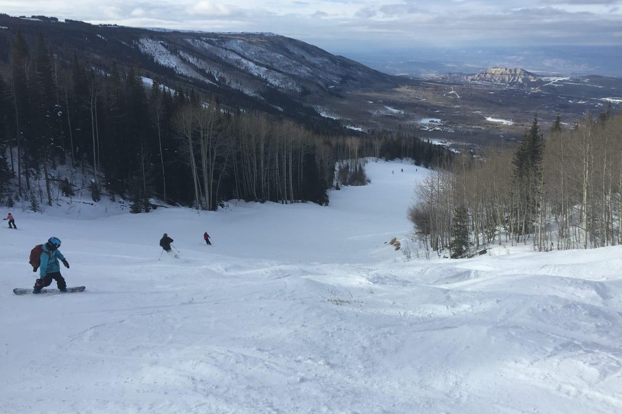 Powerdhorn Mountain Resort Snowboarding