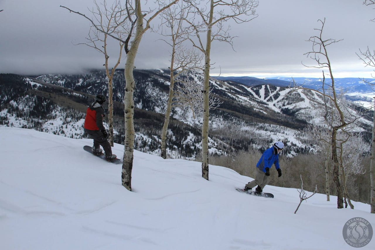 Steamboat Springs Backcountry Snowboarding
