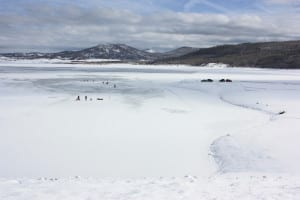 Vega State Park Ice Fishing