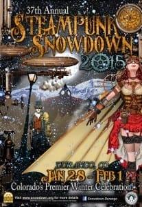 37th Steampunk Snowdown Poster