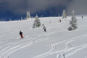 Buffalo Pass Backcountry Skiing Colorado