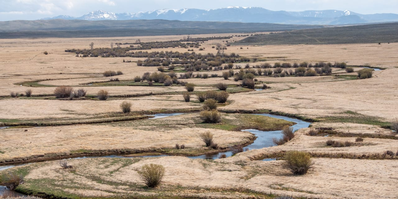 Arapaho National Wildlife Refuge Illinois River Jackson County Colorado