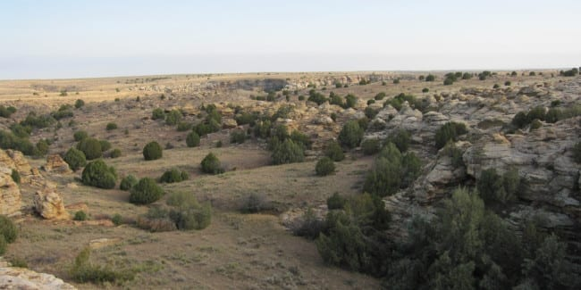 Comanche National Grassland Picture Canyon