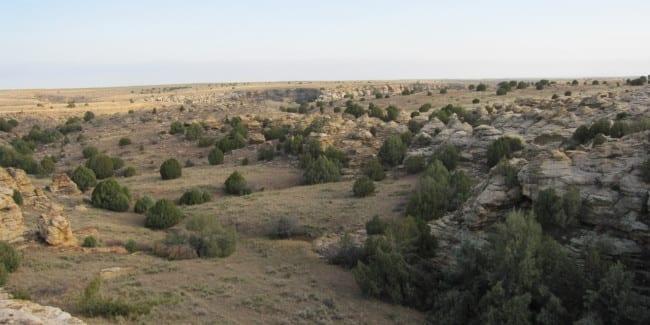 Comanche National Grassland Picture Canyon