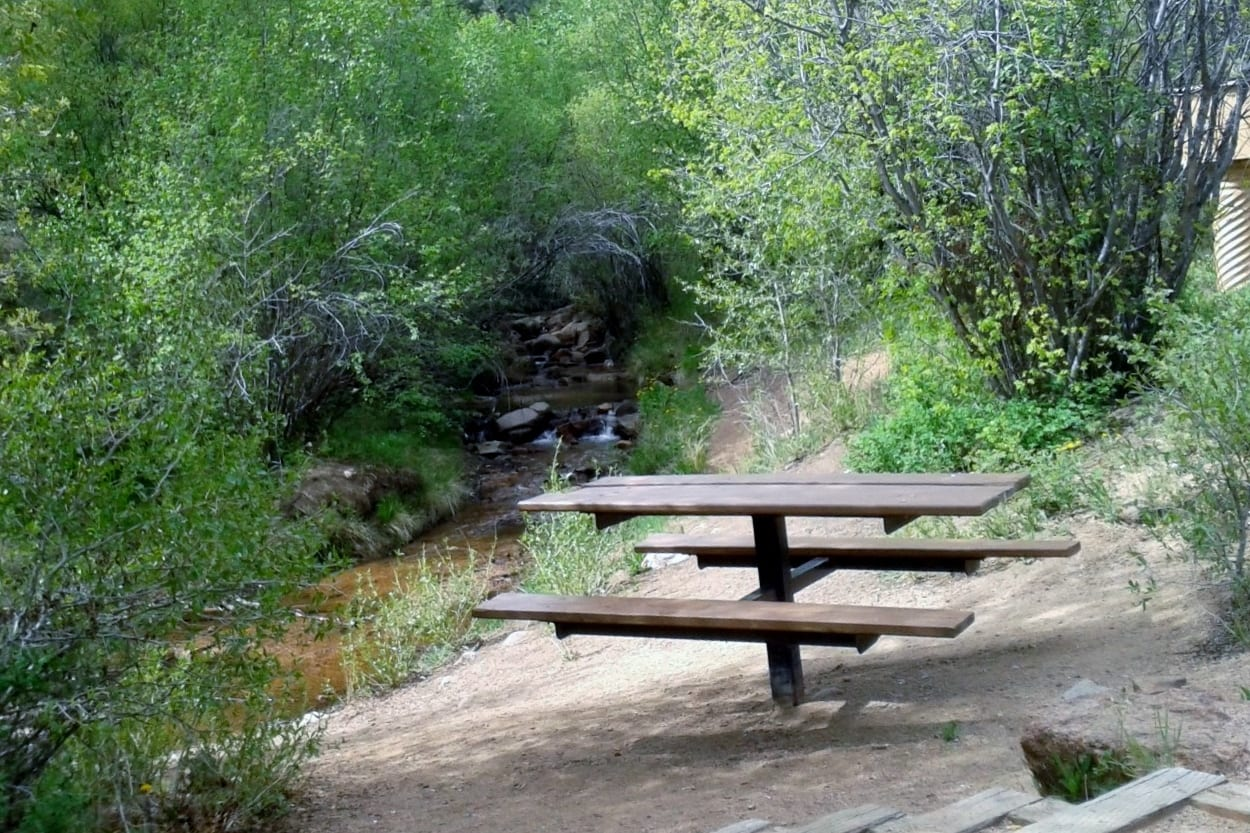 Bear Creek Canyon Park Picnic Table