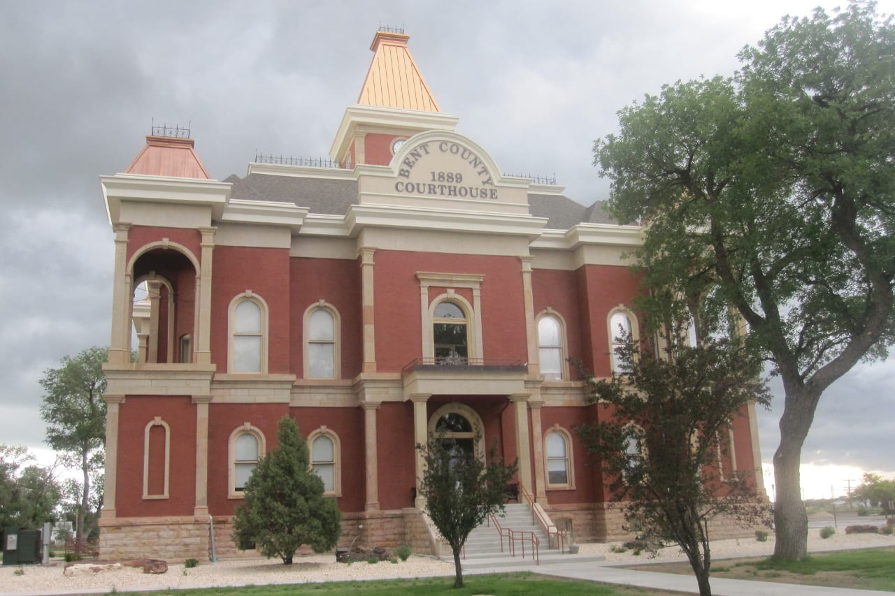 Bent County CO Courthouse