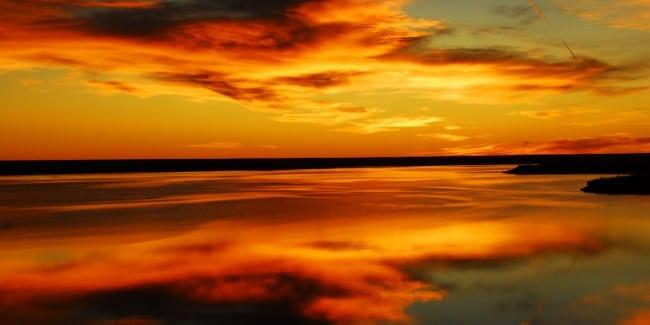 John Martin Reservoir Sunset