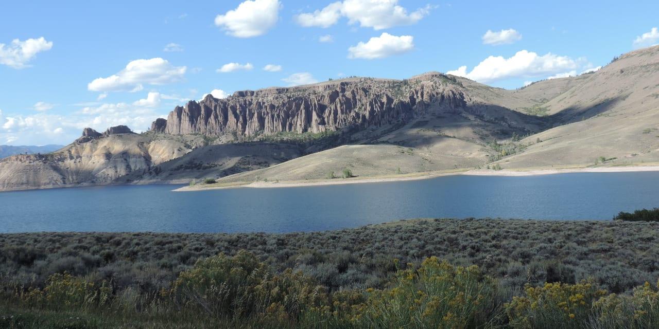 Blue Mesa Reservoir Curecanti National Recreation Area