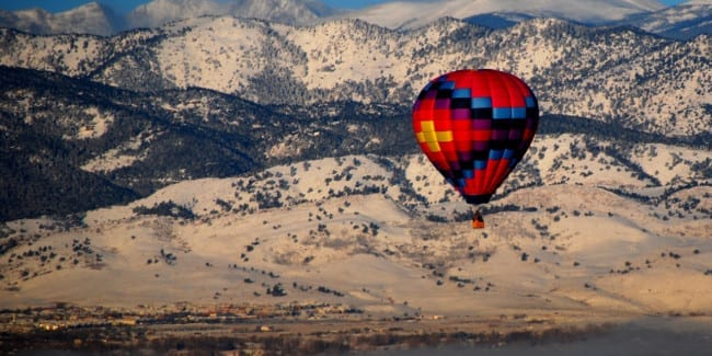 Boulder County Hot Air Balloon