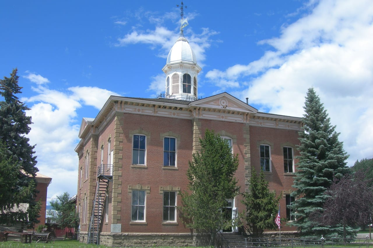 Chaffee County Courthouse Buena Vista CO