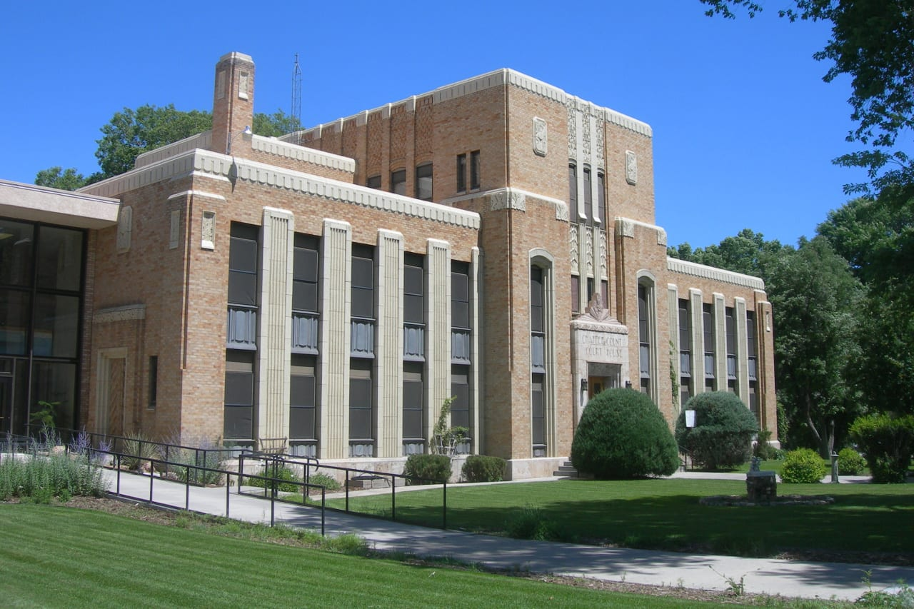 Chaffee County Courthouse Salida CO