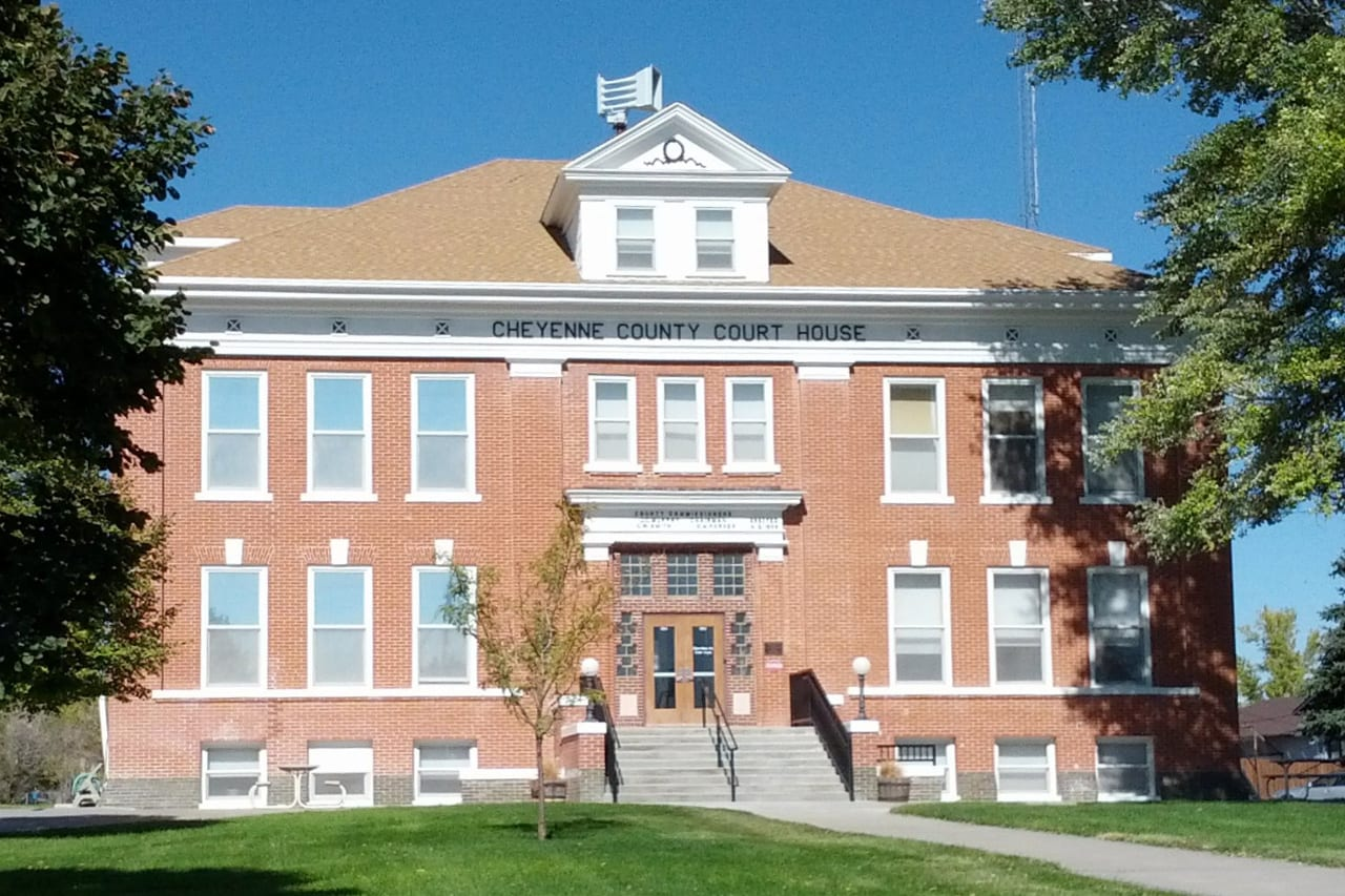 Cheyenne County Courthouse Colorado