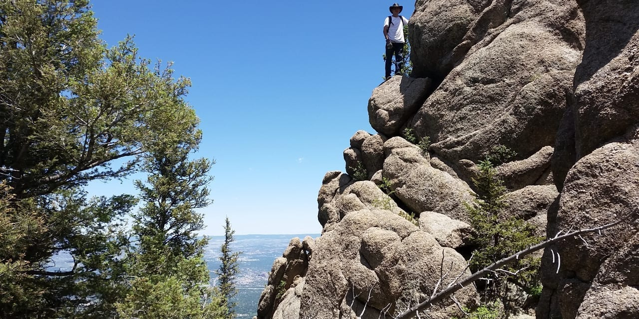 Cheyenne Mountain State Park Hiking