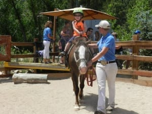 Cheyenne Mountain Zoo Pony Ride