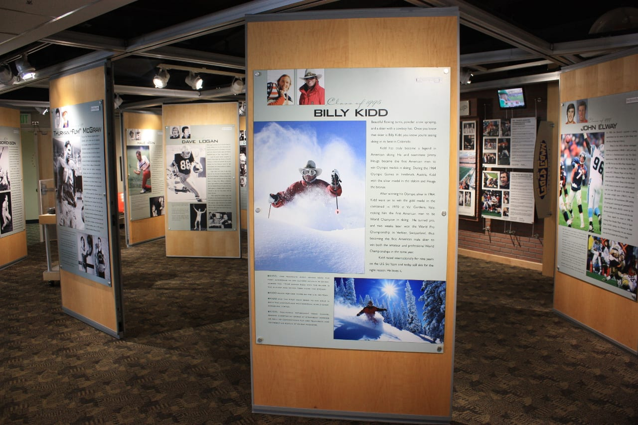 Colorado Sports Hall Of Fame Exhibits