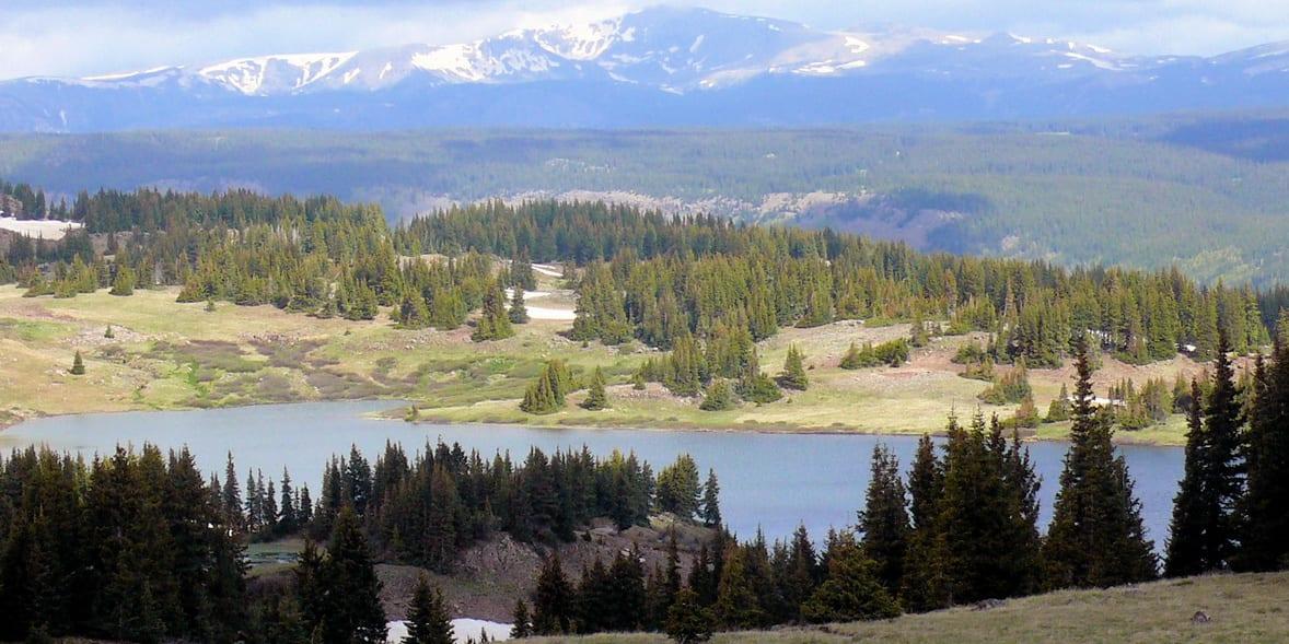 Conejos County Colorado Red Lake
