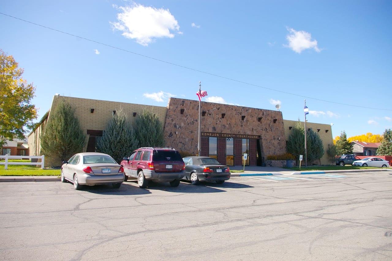 Conejos County Courthouse Colorado