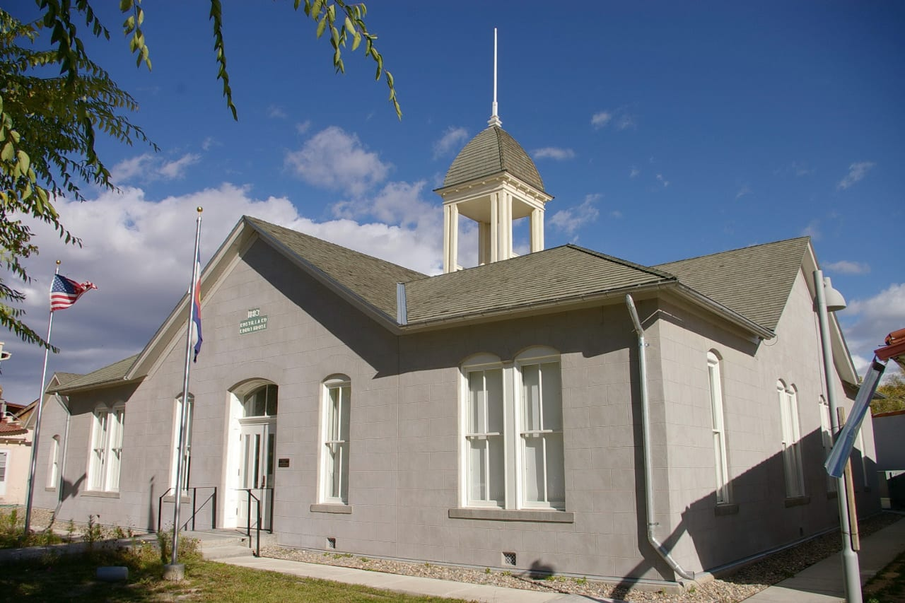Costilla County Courthouse San Luis
