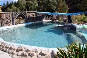 Cottonwood Hot Springs Stone Pool