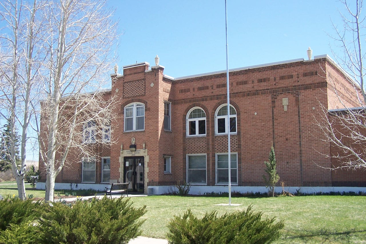 Custer County Courthouse Westcliffe CO