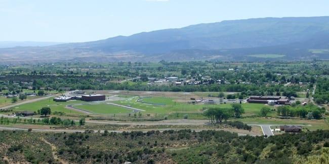 Cedaredge Colorado From Cedar Mesa