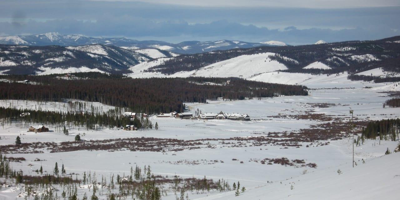 Devil's Thumb Ranch Resort Aerial View