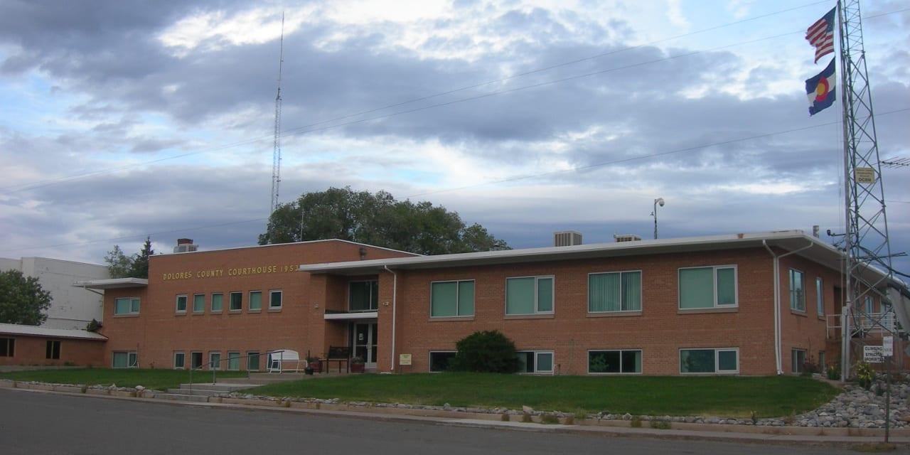 Dolores County Courthouse Dove Creek Colorado