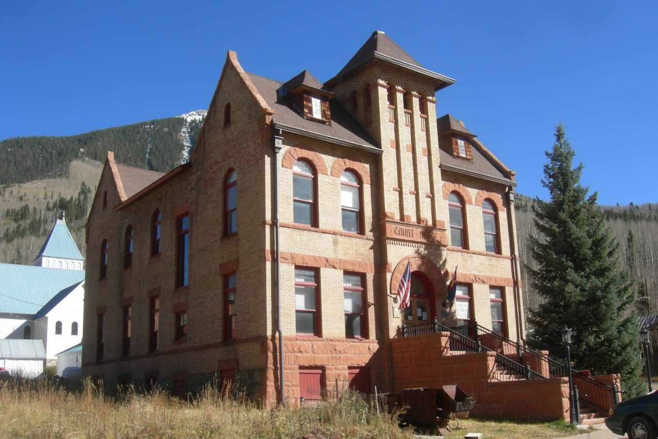 Dolores County Courthouse Rico Colorado