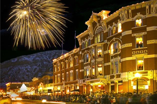 Durango Snowdown Fireworks