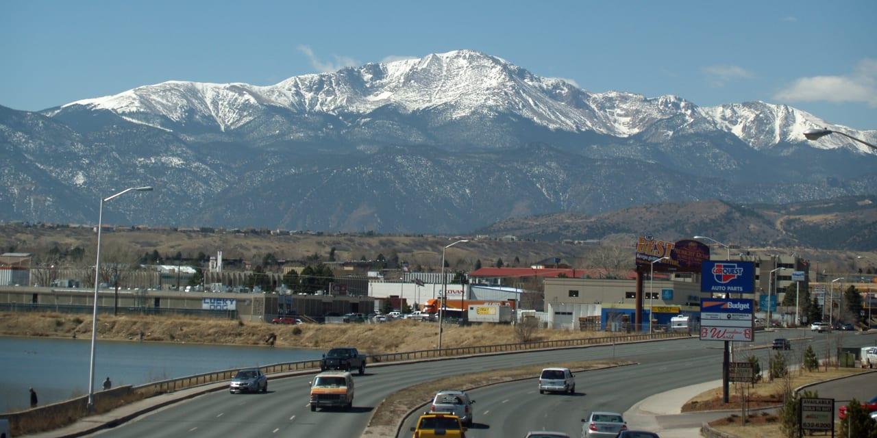 El Paso County Pikes Peak Colorado Springs