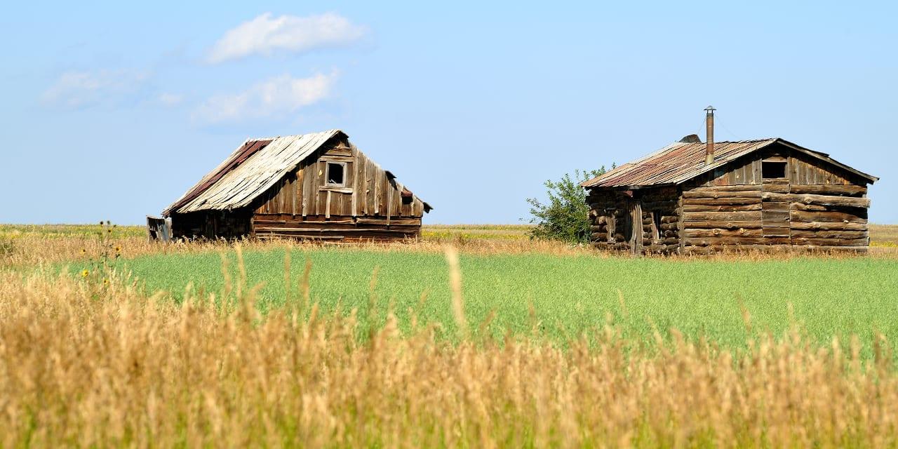 Elbert County Colorado Old Homesteads
